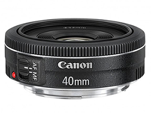 Canon EF 40mm f/2.8 STM lens (The Pancake)